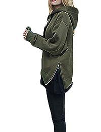 scarpe di separazione bd500 a9b4e Amazon.it: Felpa Verde Militare - Donna: Abbigliamento