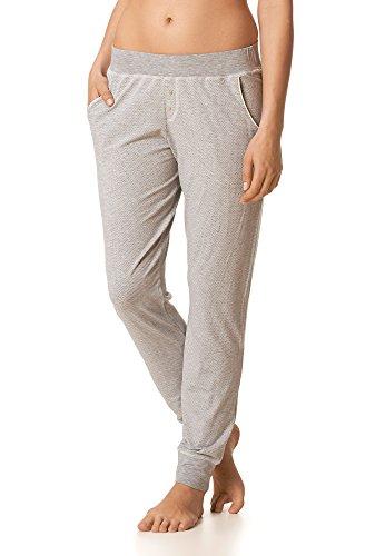 Mey Loungewear Mey Lounge Damen Yoga Pants 16093 Hellgrau Melange