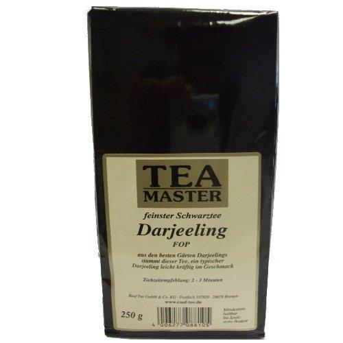 Rauf Tee Schwarztee-Tea Master Darjeeling FOP -2x250g