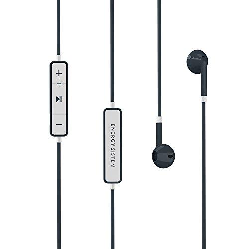 Energy Earphones 1 Bluetooth - Auriculares in-Ear (Bluetooth, Earbud, micrófono Integrado, batería Recargable) Color Grafito