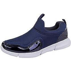 MEIbax Unisex Scarpe Running estive Sneakers Traspirante Mesh Scarpe  Sportive Casual Scarpe da Escursionismo Scarpe da a7f81fbb886