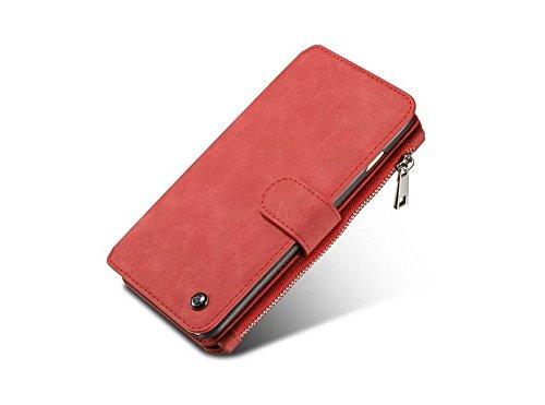 iPhone 6 / 6S Hülle,UltraSlim Thermo Sensor Fluoreszierende Thermo Hitze Induktion matt weich PC Schutzhülle Handyhülle Tasche für Apple iphone 6/6s 4.7 Zoll mit Farbwechsel Back Case Cover Rot