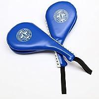 2 Almohadillas de Taekwondo para Atar, para Practicar Doble Patada, Kickboxing, Equipo de Entrenamiento Tamaño Libre Sent in Random