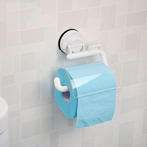 JU Toilettenpapier Rack Sucker Rollenhalter Wall - Mounted Toilettenpapier Handtuchhalter WC WC - Free Toilettenpapierhalter -