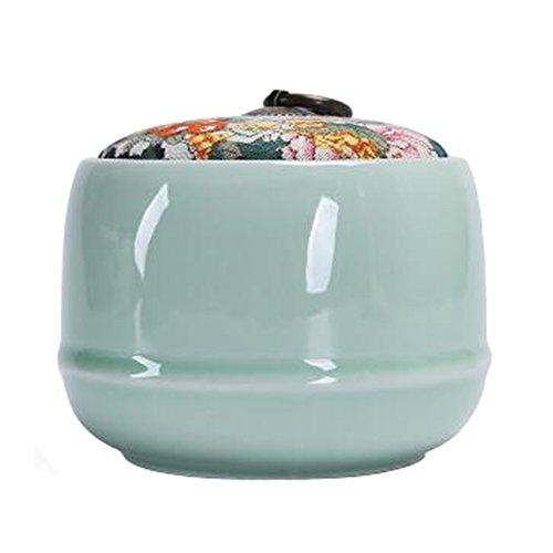 Chinesische Tee / Kaffee Container Keramik Topf S??igkeiten / Snacks / Cookies Topf Lagerung Flaschen NO.08
