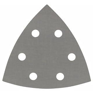 Bosch Professional Schleifblatt für Dreieckschleifer und Multi-Cutter (5 Stück, 93 mm, Körnung 1200, F355)