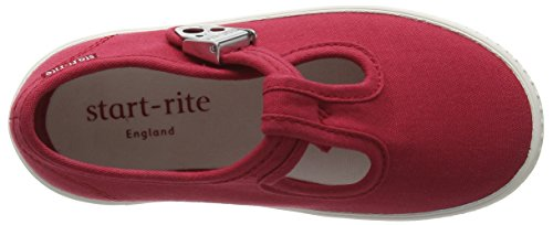 Start Rite Wells, Chaussures Bateau Mixte Enfant Red (Red)