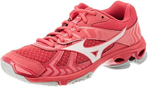 sports shoes 8dea4 24f2c Mizuno Wave Bolt 7, Scarpe da Ginnastica Basse Donna, Rosa (Azalea Wht