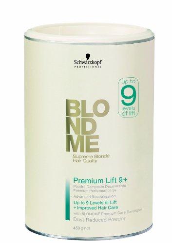 Schwarzkopf BM Premium Lightener Polvos Compactos Decolorantes - 450 ml