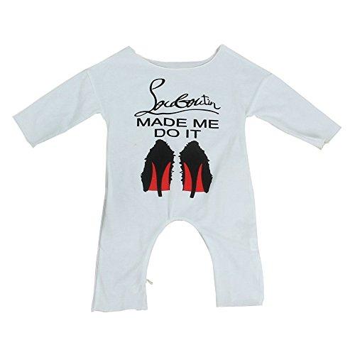 Lanlan Lange Ärmel Mädchen Overall Neugeborene Infant Baumwolle Outfits Kleidung Sommer Baby Strampler (18% Spandex-zwei Stück)