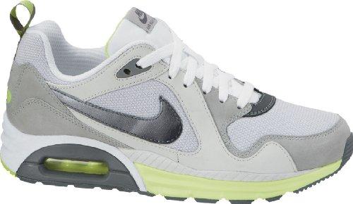 Nike Wmns Air Max Trax, Chaussures de Sport Femme Blanc Cassé - Blanco (White / Cl Gry-Mtllc Slvr-Lt Bs)