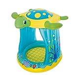 Kinder Baby Pool Schwimmbad 109x 96x 104Schildkröte aufblasbar bes364