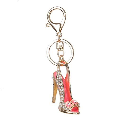 WEIHAN BZ373 scarpe col tacco alto portachiavi donne portachiavi pendente della borsa affascinante borsa a catena sacchetto dei monili di modo regalo di compleanno