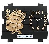 Bella Feelings Analog wall clock 17 Designer Wall Clock /Watch (Multicolor)