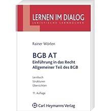 Einführung in das Recht und Allgemeiner Teil des BGB