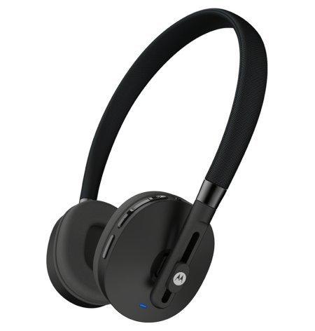 Motorola S505 Moto Pulse Wireless On-Ear Headphone (Black-Chalk)