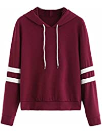 0f2166cf5ee58 LILICAT Pineapple Print Hoodie Blouse Femme Mode Sweatshirt Tops Noire Hooded  Pullover Drawstring Lâche College Casual Coton Shirt…