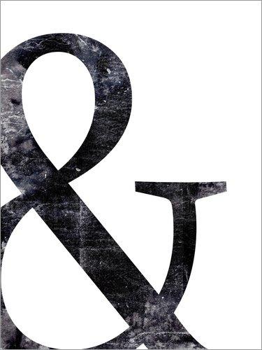 Poster 30 x 40 cm: Und von Dani Wijeyesinghe - Hochwertiger Kunstdruck, Kunstposter