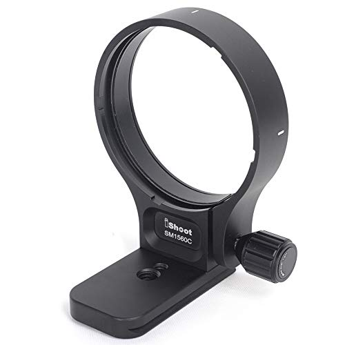Objectif Trépied Bague de Montage Usiné CNC Lentille Collier Support Bracket pour Sigma 150-600mm f5-6.3 DG OS HSM Contemporary Lens Bas est Arca type Plaque à Dégagement Rapide