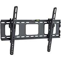 "VonHaus 32-70"" Tilt TV Wall Mount Bracket with Spirit Level & Locking Bar for LED, LCD, 3D, Curved, Plasma, Flat Screen Televisions - Super Strong 75kg Weight Capacity"