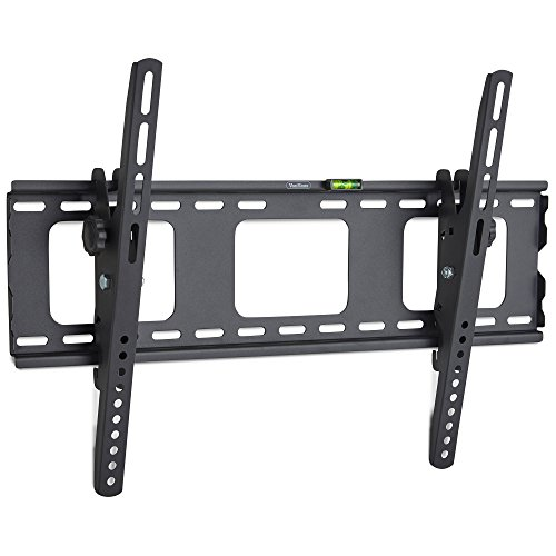 "VonHaus 32-70"" Tilt TV Wall Mount Bracket with Built-In Spirit Level for LED, LCD, 3D, Curved, Plasma, Flat Screen Televisions - Super Strong 75kg Weight Capacity"