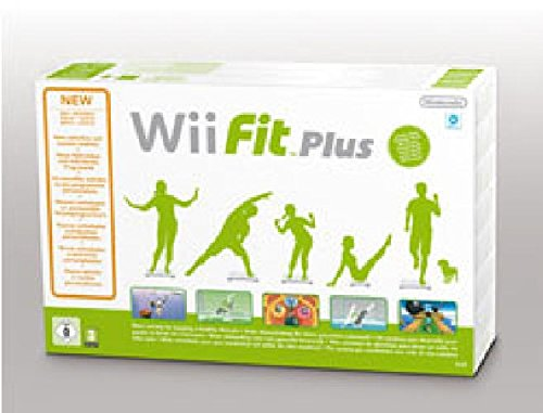WII FIT Plus MIT BALANCE BOARD Wii Fit Plus Bundle, Wii (Balance Bundle Fit Board Wii)