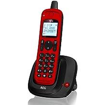 AEG Thor Outdoor - Teléfono DECT - Teléfono Inalámbrico IP67 - Rojo