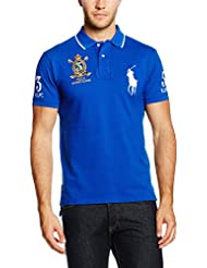 Polo Ralph Lauren Sscustbppm5-Short Sleeve-Knit, Homme