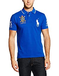 Polo Ralph Lauren Sscustbppm5-Short Sleeve-Knit, Polo Homme
