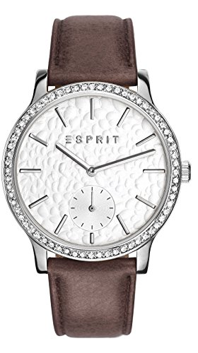 Esprit Damen Armbanduhr Analog Quarz Leder ES108112001