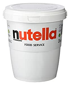 ferrero pot de nutella 3 kg epicerie. Black Bedroom Furniture Sets. Home Design Ideas