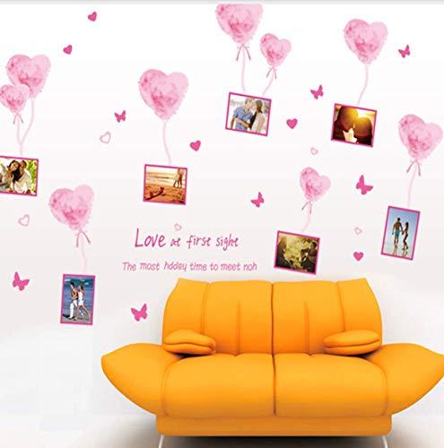 Wandaufkleber Liebe Ballon Fotos Geschrieben Verkaufen Wie Heiße Kuchen Hintergrund Dekoration Mode Warmes Schlafzimmer Wohnzimmer (Yoyo Ballon)