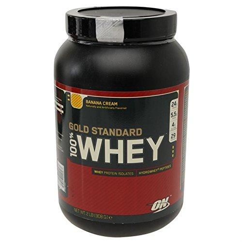 Optimum Nutrition Whey Gold Standard Protein Shake, banane - Gold-standard-protein-shake