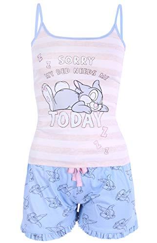 Beige-Blauer Pyjama von Klopfer Disney XXS