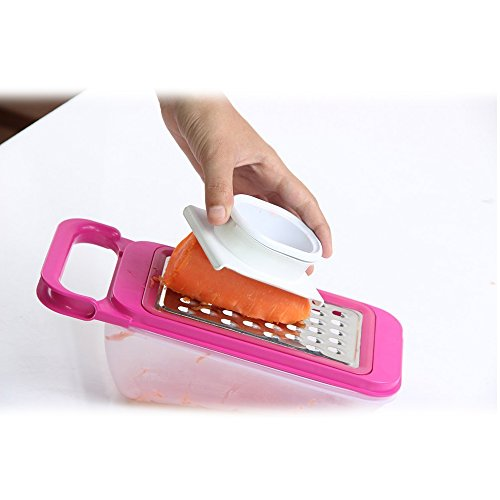 Mandoline Cutter (LIKECAR 6 Stück Multifunktionsreibe Cutter Shredder Slicing Set Mandolinist Slicer Küchenhelfer Veg Salat Grater Cutter Slicer Shredder)