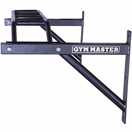 Gym-Master-Heavy-Duty-12m-Wall-Mounted-Multi-Grip-Chin-Pull-Up-Bar
