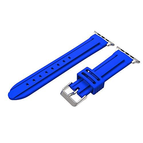 Feinny Lederband Ersatzband Sport Silikon Armband Strap Band Für Apple Watch Serie 4 -40mm