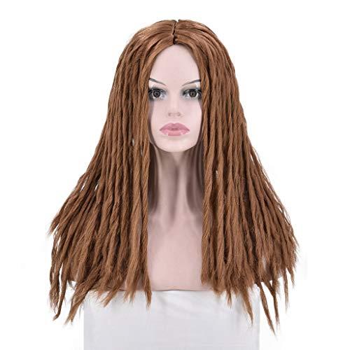 Afro Perücke Blond Oyedens, Brazil Women Twist Braids Perücken Extensions Kunsthaar Marley Braidsschwarze Afrikanische SkorpionPerücke 60Cm