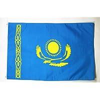 BANDERA de KAZAJISTÁN 150x90cm - BANDERA KAZAJA 90 x 150 cm - AZ FLAG