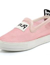 ZQ Zapatos de mujer-Plataforma-Creepers-Mocasines-Exterior / Casual-Tela-Negro / Blanco , black-us7.5 / eu38 / uk5.5 / cn38 , black-us7.5 / eu38 / uk5.5 / cn38