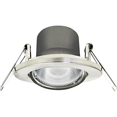 MEGATRON Chico MT76724 LED-Einbauleuchte EEK: LED (A++ - E) 4W Warm-Weiß Nickel