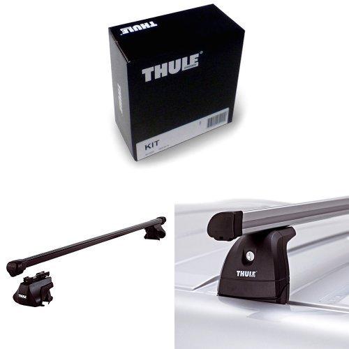 Thule Kit 3028 + Thule 761 Dachträger + Thule 753 Fußsatz für Fahrzeuge mit vorhandenen Befestigungspunkten