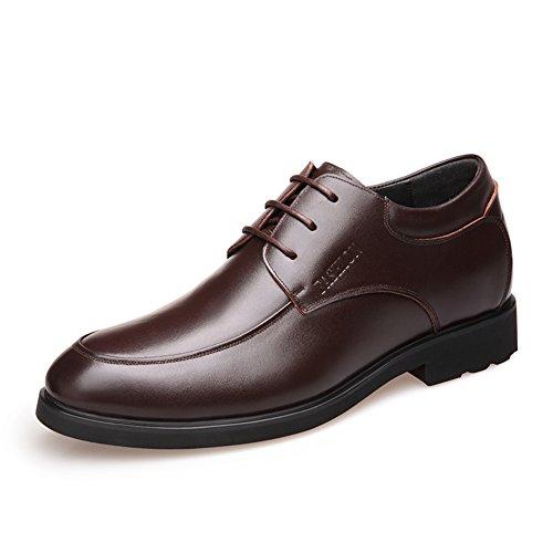 Aumentato l'estate traspirante scarpa uomo/Pattini di vestito di affari/Maschile scarpe inglesi-B Lunghezza piede=24.8CM(9.8Inch)