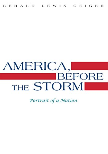 America, Before the Storm (English Edition)