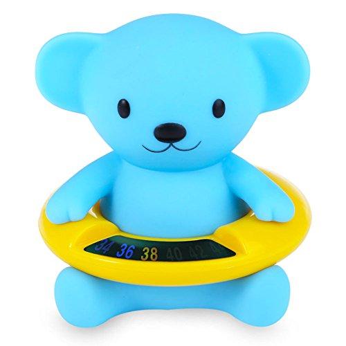 Pingxia Baby Badethermometer Kinder Wasserthermometer Badespielzeug Blauen Bäre