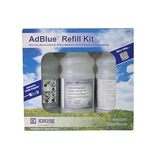 AdBlue  ® NOX-Reduktionsmittel Harnstoff Refill Kit 3X 1,89 Liter inkl. Adapter