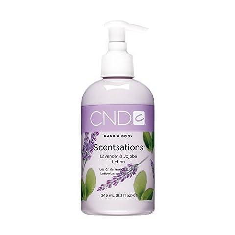 CND Creative Scentsations Hand & Body Lotion - Lavender & Jojoba - 8.3 oz by CND/Creative Nail Design