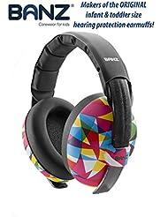 Banz Baby Gehörschutz Sound blockierender Ohrenschützer, 3 Monate +