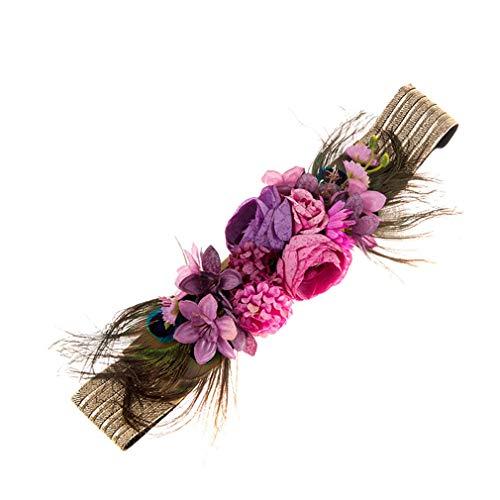 kaoling Cinturones flores moda para mujeres Cintura la boda Fajas Cinturones tela la correa elástica Accesorios 1006E