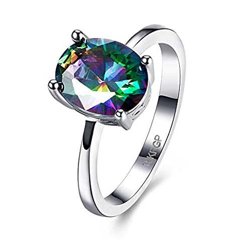 Luminous Fashion Popular Ring ,Multi-color,6